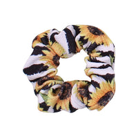 Sunflower Stripe - Liverpool Scrunchie