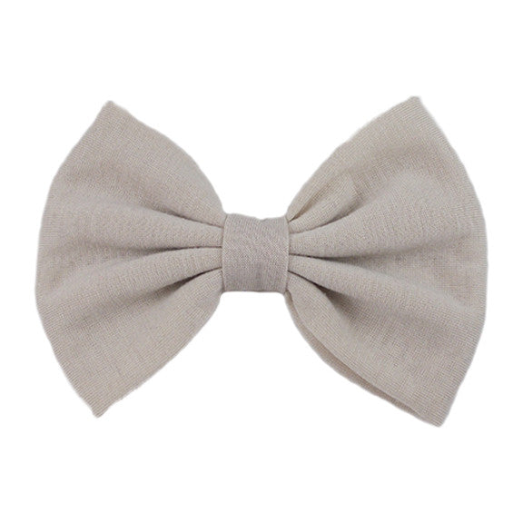 Sand - XL Jersey Knit Bow