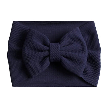 Navy Blue - Liverpool Bow Headwrap