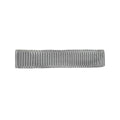 Gray - Partially Lined - Single Prong Alligator Clip - 45mm