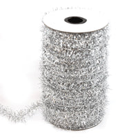 Silver - Tinsel Trim