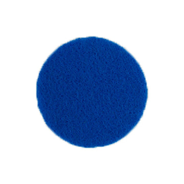 "Blue - 1"" Adhesive Felt Circles - Sheet of 8 Circles"