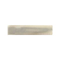 Ivory - Partially Lined - Single Prong Alligator Clip - 45mm