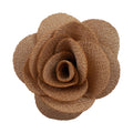 "Beige - 2"" Cloth Flower"