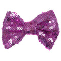 "Lilac Pink - 4"" Sequin Bow"
