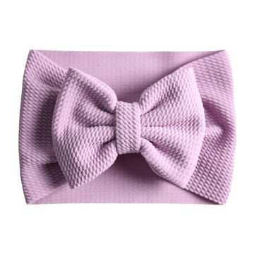 Lavender - Liverpool Bow Headwrap