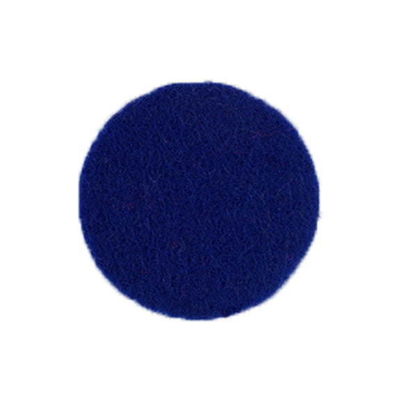 "Royal Blue - 1"" Adhesive Felt Circles"