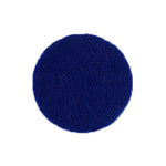 "Royal Blue - 1"" Adhesive Felt Circles - Sheet of 8 Circles"
