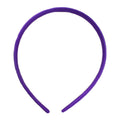 Purple - 10mm Satin Lined Headband