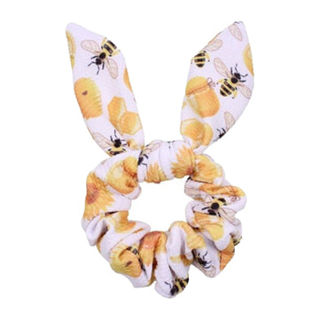 Honey Bees - Liverpool Bunny Ear Scrunchie