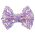 "Lavender Iridescent - 4"" Sequin Bow"