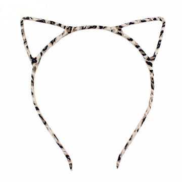 Leopard - Cat Ears Headband