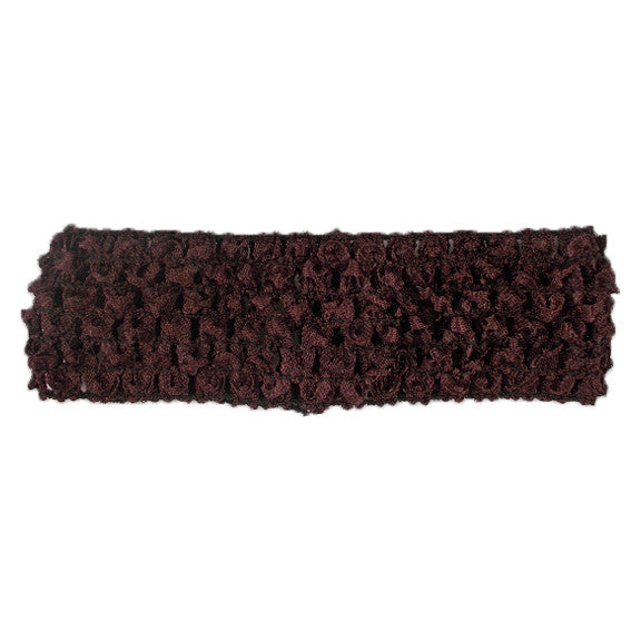 "Brown - 1.5"" Crochet Headband"