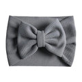 Gray - Liverpool Bow Headwrap