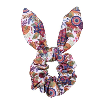 Fall Floral - Liverpool Bunny Ear Scrunchie