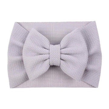Light Gray - Liverpool Bow Headwrap