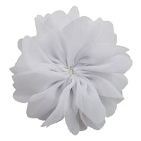 "White - 2.5"" Ballerina Flower"