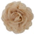 "Tan - 3"" Silky Chiffon Rose Flower"