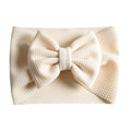 Ivory - Liverpool Bow Headwrap