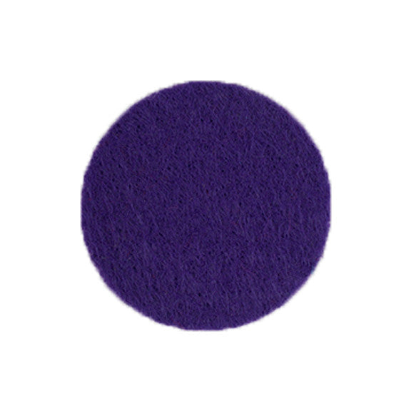 "Purple - 1"" Adhesive Felt Circles"