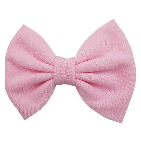 Baby Pink - XL Jersey Knit Bow