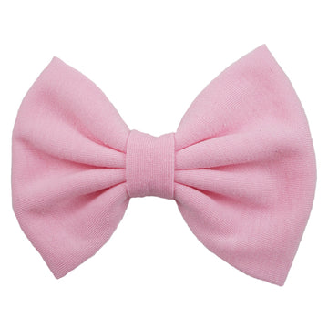"Baby Pink - 5"" Jersey Knit Bow"