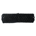 "Black - 1.5"" Crochet Headband"
