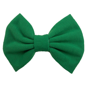 Green - XL Jersey Knit Bow