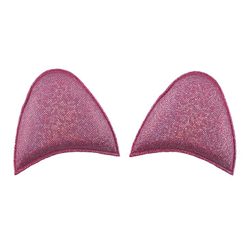 "Hot Pink Shimmer - 2.5"" Unicorn Ears"