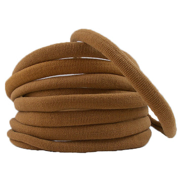 Beige - Thick Nylon Headband