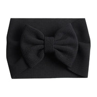 Black - Liverpool Bow Headwrap