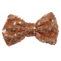 "Rose Gold - 4"" Sequin Bow"