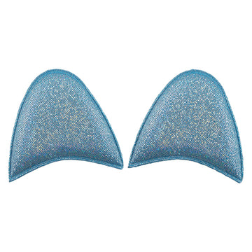 "Blue Shimmer - 2.5"" Unicorn Ears"