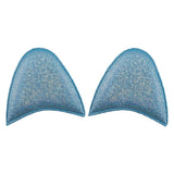 Blue Shimmer - Padded Unicorn or Cat Ears