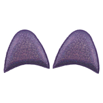 "Purple Shimmer - 2.5"" Unicorn Ears"