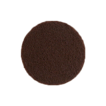 "Brown - 1"" Adhesive Felt Circles - Sheet of 8 Circles"