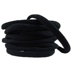 Black - Thick Nylon Headband
