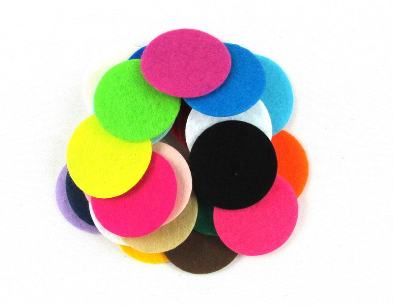 "Grab Bag - 1.5"" Felt Circles"