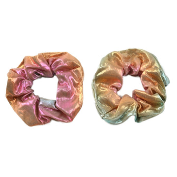 Milky Way - Shiny Metallic Scrunchie