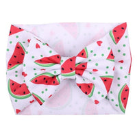 Watermelons - Liverpool Bow Headwrap