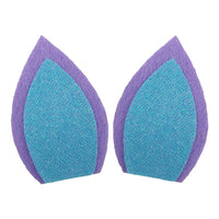 "Lavender + Blue - 3"" Felt Unicorn Ears"
