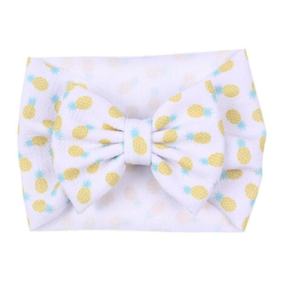Pineapples - Liverpool Bow Headwrap