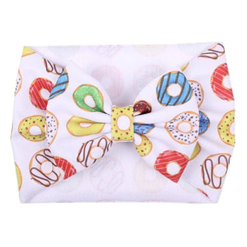 Donuts - Liverpool Bow Headwrap