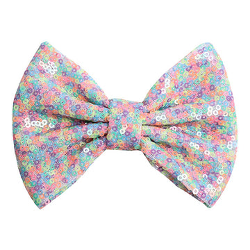 "Candy Confetti - 4"" Sequin Bow"