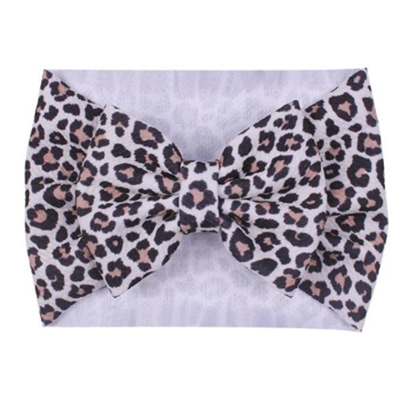 Leopard - Liverpool Bow Headwrap