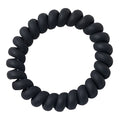 Black - Matte Phone Cord Hair Tie