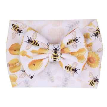 Honey Bees - Liverpool Bow Headwrap