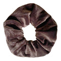 Brown - Velvet Scrunchie