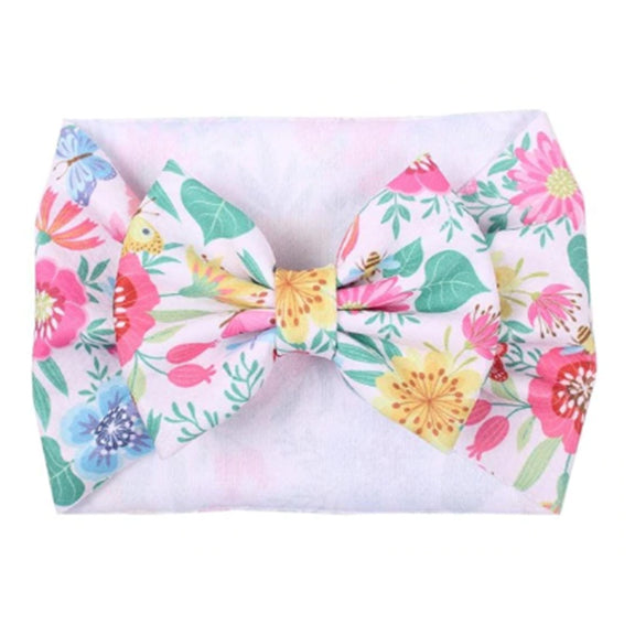 In the Garden - Liverpool Bow Headwrap