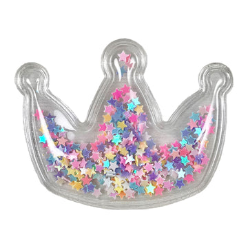 "Pastel Confetti Stars - 2"" Princess Crown"
